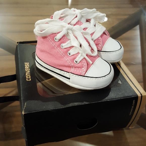 f174a8ac1988 Converse Other - 💕Newborn Pink Converse All-stars💕